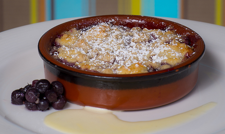 Taste of Life: Blueberry Cobbler